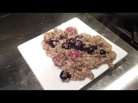 How to Cook Instant Quinoa part 4 and Fruit Cereal for Breakfast