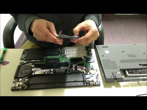 Lenovo Thinkpad T450 Hard Drive/SSD Replacement