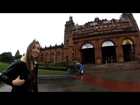 GLASGOW ART GALLERY, GLASGOW UNI AND MY UNCLE GOES TO AA! (Vlog #672)