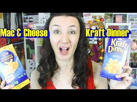 Mac & Cheese Vs Kraft Dinner Taste Test