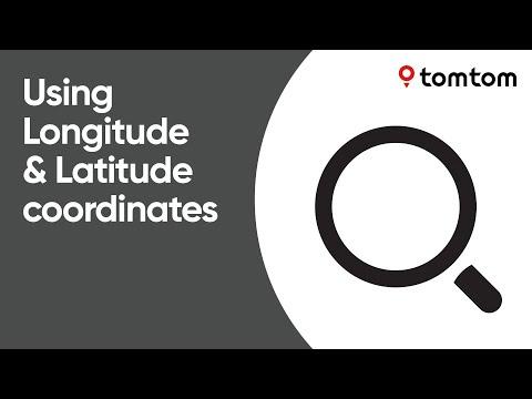 Using Longitude and Latitude coordinates