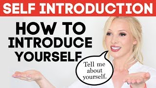 Download SELF INTRODUCTION | How to Introduce Yourself in English | Tell Me About Yourself Interview Answer Video