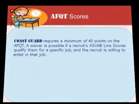 ASVAB Subtest and ASVAB Scoring