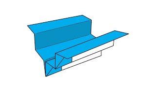 [색종이로 접어 날리는 종이비행기 페이퍼윙즈] 윙클 접는방법(Paper plane wrinkle)
