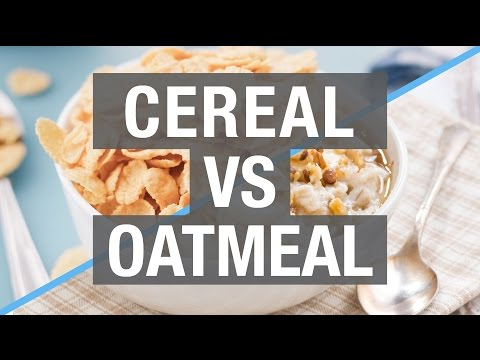 Cereal vs Oatmeal: Who Wins?