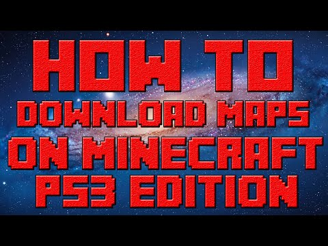 How To Download Maps For Minecraft PS3 (Mac)