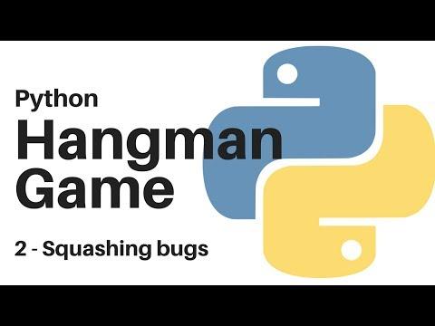 2 Python Hangman - program fixed
