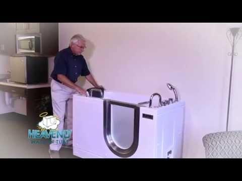 Heavenly Portable Walk-In Tubs