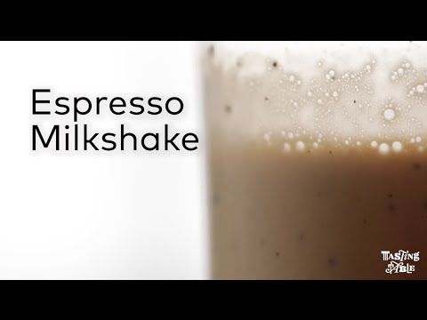 Espresso Milkshake | Drinking | Tasting Table