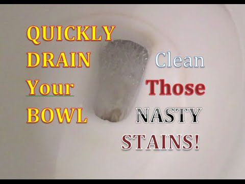 Vinegar to clean TOILET BOWL household cleaning supplies Safe organic natural