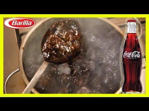 Coke What happens if you boil Coca Cola? 30 min barilla