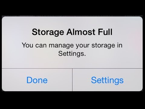 Mengatasi Storage Full pada iPhone ( Clear Cache )