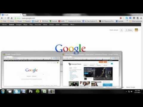 Windows 7—Increase Task Bar (Taskband) Thumbnail Size