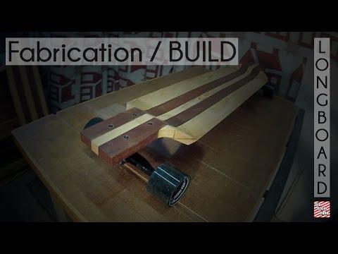 Fabriquer une Longboard - Build a Longboard / Drop Deck #VidClemProd