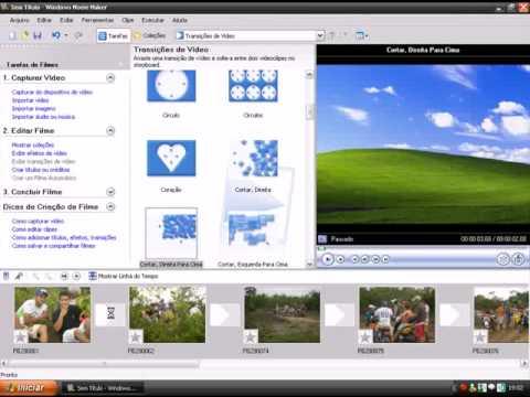 Como criar video com Windows Movie Maker.wmv