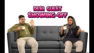Desi Guest Showing-Off