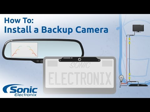 How to Install a Rear View Backup Camera   Step by Step Installation & Buying Guide