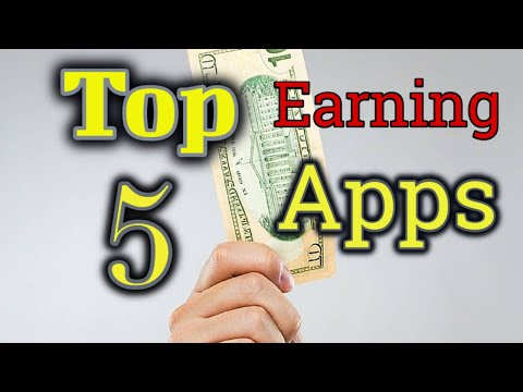 Top 5 earning apps how to easily make money unlimited with android phone best apps full hindi 2018