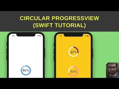 Swift Tutorial :- Create circularProgressView / circular progress bar iOS swift
