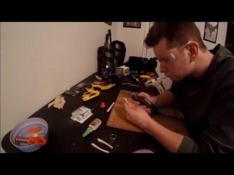 Making Nightwing gadgets