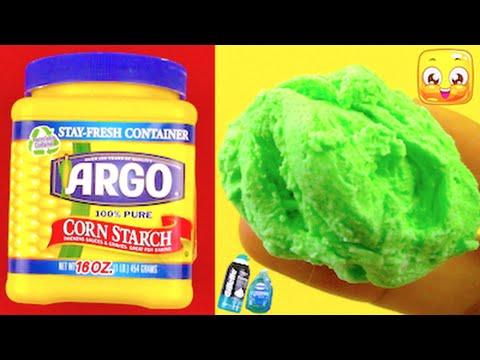 DIY Fluffy Slime Without Glue, Borax, Liquid Starch, Detergent, Baking Soda, Shampoo, Conditioner