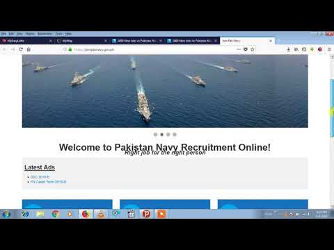 PAK NAVY job,||||short service commission course||||mobashar