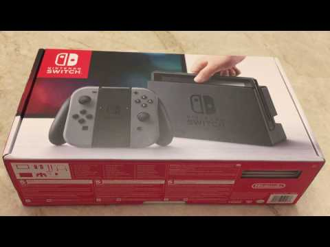 Nintendo Switch Console Unboxing