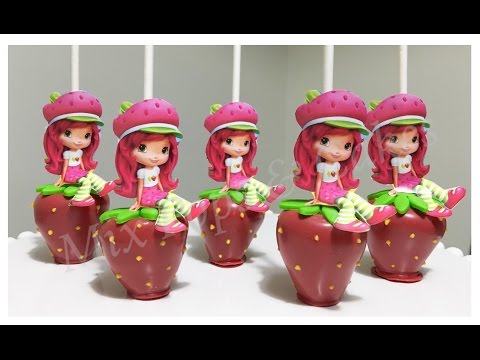 How to make Strawberry Shortcake theme Cakepops