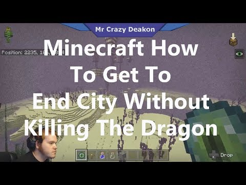 Minecraft Getting End City Without Killing Dragon Not A Glitch (xbox,pc,switch,android,mobile)