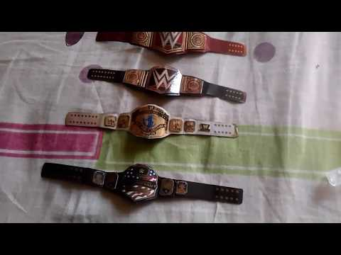 How to make WWE championship belts homemade for toys