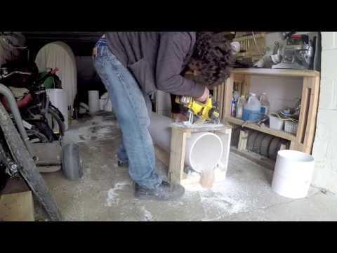 Making PVC Sleeves for Drift Trike