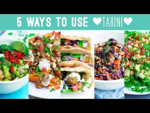 5 Ways to Use Tahini - Savoury Edition