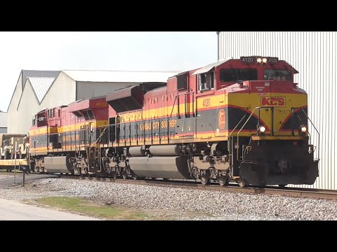 [3Y] Emergency Braking of Military Train with KCS Units, Hull - Elberton, GA, 09/08/2016 ©mbmars01
