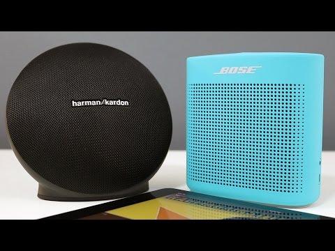 Bose Soundlink Color 2 vs Harman Kardon Onyx Mini with Sound Comparison