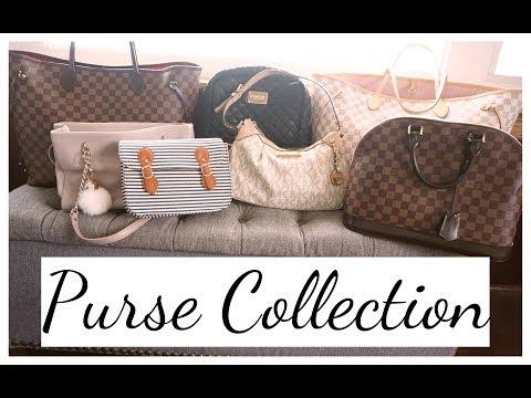 My Entire Purse Collection   Louis Vuitton, Michael Kors, Kate Spade & More!