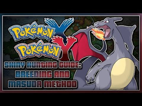 Pokémon X and Pokémon Y - Shiny Hunting Guide | Breeding and Masuda Method