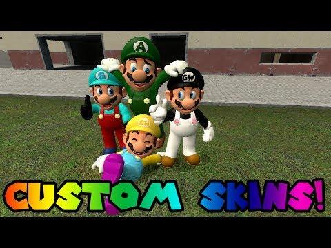 Tutorial: How to make custom skins in Gmod!
