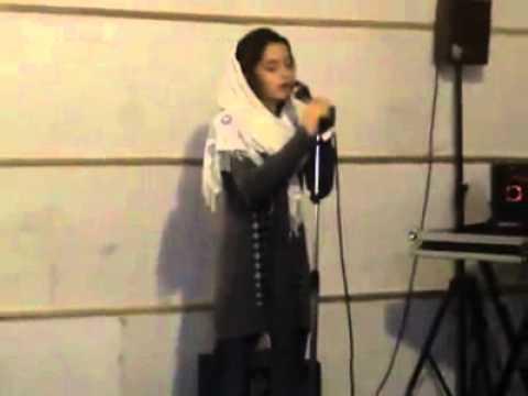 An Iranian (Persian) girl singing Adele - Someone like you