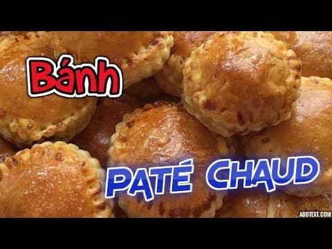 Cách Làm Bánh Pate Chaud