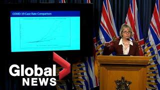 Coronavirus outbreak: B.C. top doctor 'cautiously optimistic' about COVID-19 forecast | FULL