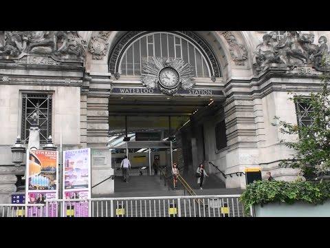 Underground & Overground - London Waterloo International & Tube Line Train Stations