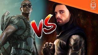 Avengers Infinity War Falcon And Bucky