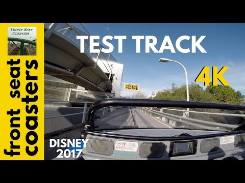 Test Track POV 4K Front Seat On-Ride 2017 Epcot at Walt Disney World Orlando