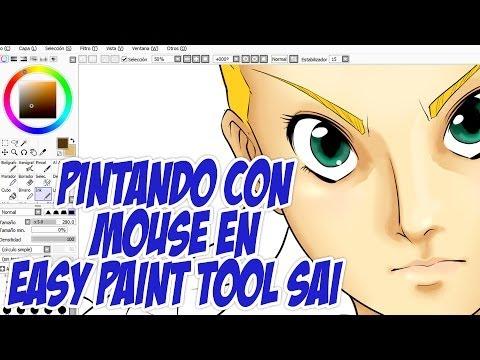 Cómo pintar con mouse en SAI por Shukei