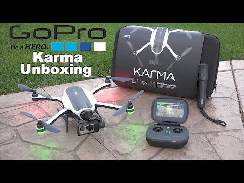 GoPro Karma Unboxing & First Flight 4K | GoPro Karma Bundle Unboxing