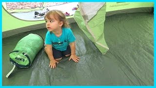 FIRST FAMILY CAMPING EXPERIENCE!