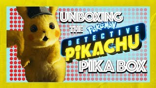 Unboxing the Detective Pikachu Pika Box!