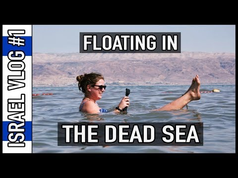 FLOATING IN THE DEAD SEA!! | Israel Travel Vlog #1