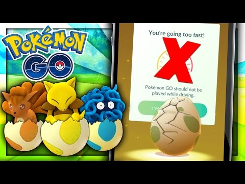 HOW TO HATCH EGGS WHILE DRIVING? - Pokemon Go