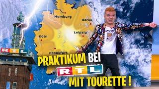 Tourette als Praktikant bei RTL: Jan wird Moderator